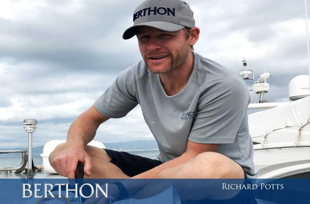 Richard Potts - shipwright and engineer at Berthon Spain
