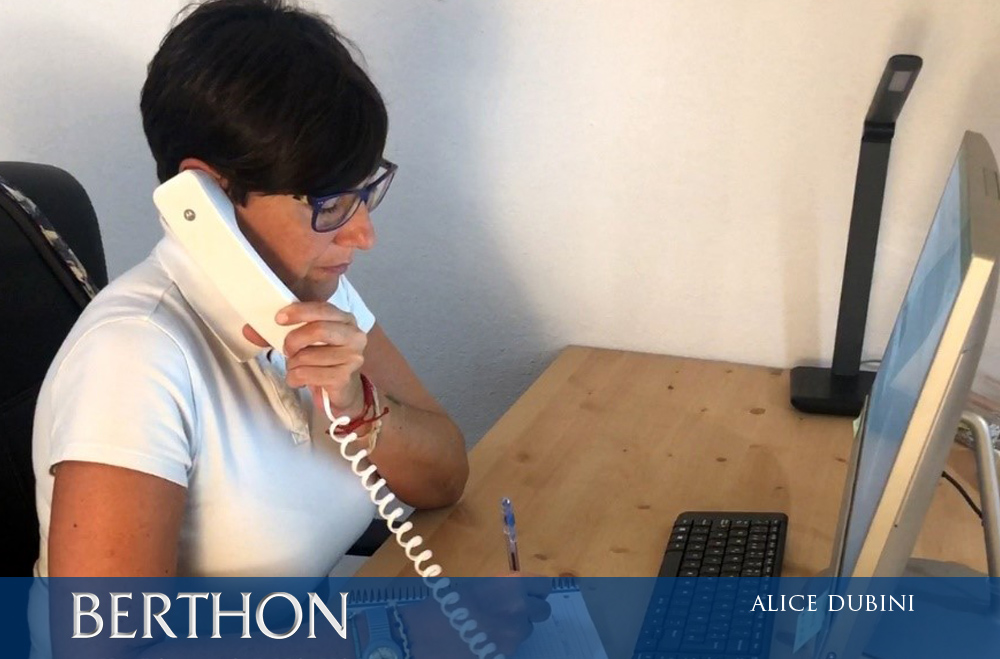 Alice Dubini - Office Manager at Berthon Spain