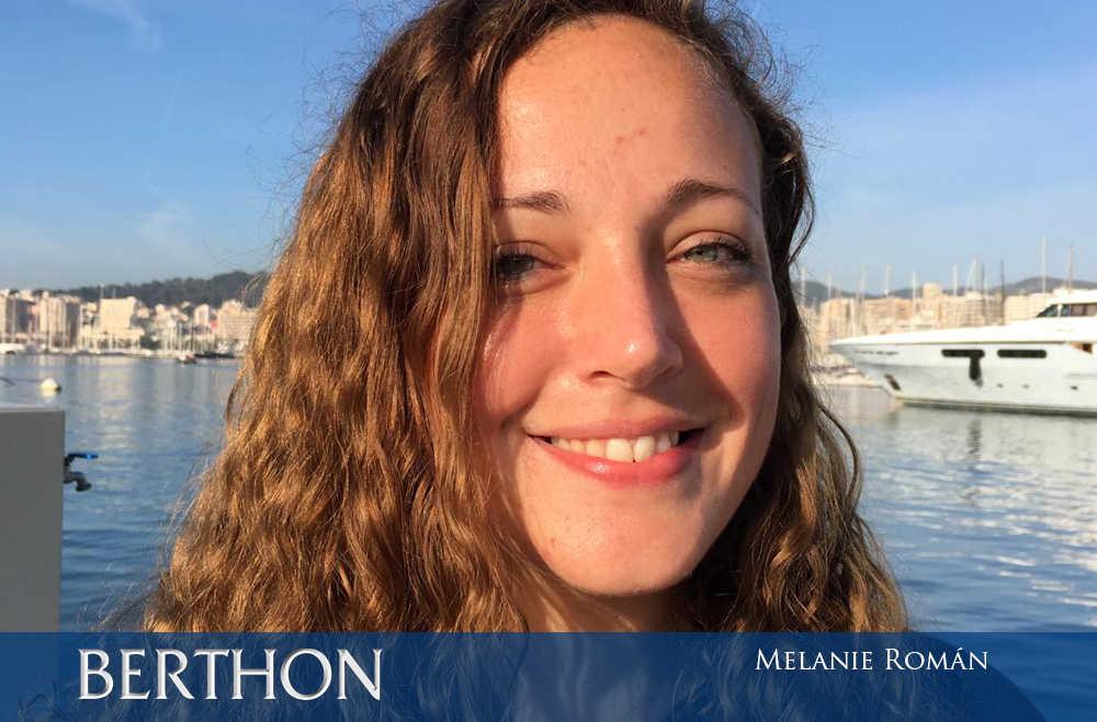 Melanie Román - valet at Berthon Spain