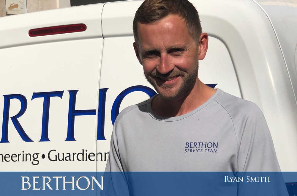 Ryan Smith - Berthon Spain guardiennage crew
