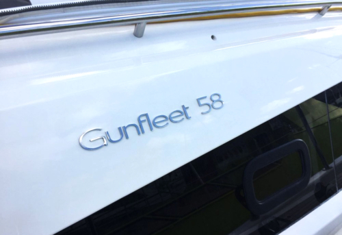 New Gunfleet 58 sign installed