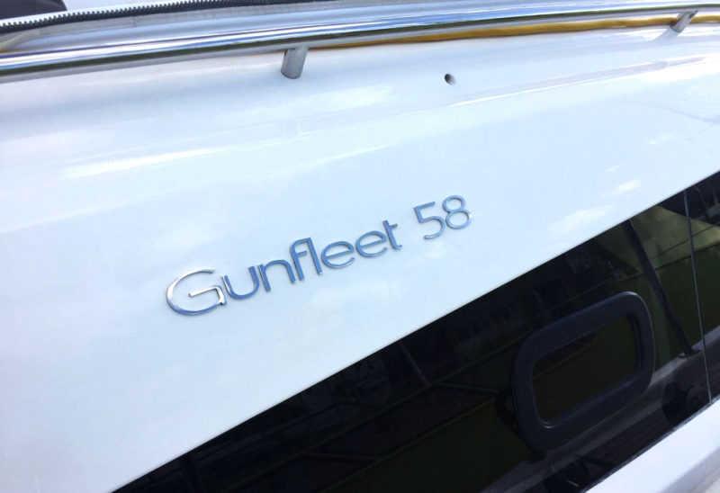 New Gunfleet 58 sign installed