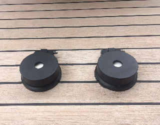 Custom made deck button covers