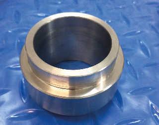 Custom made stainless steel fitting
