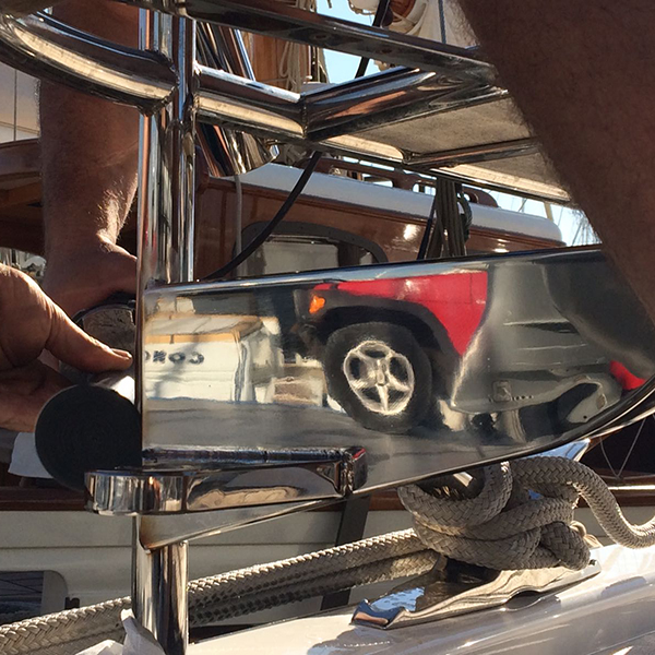 Berthon Spain Flexible Gangway Fabrication
