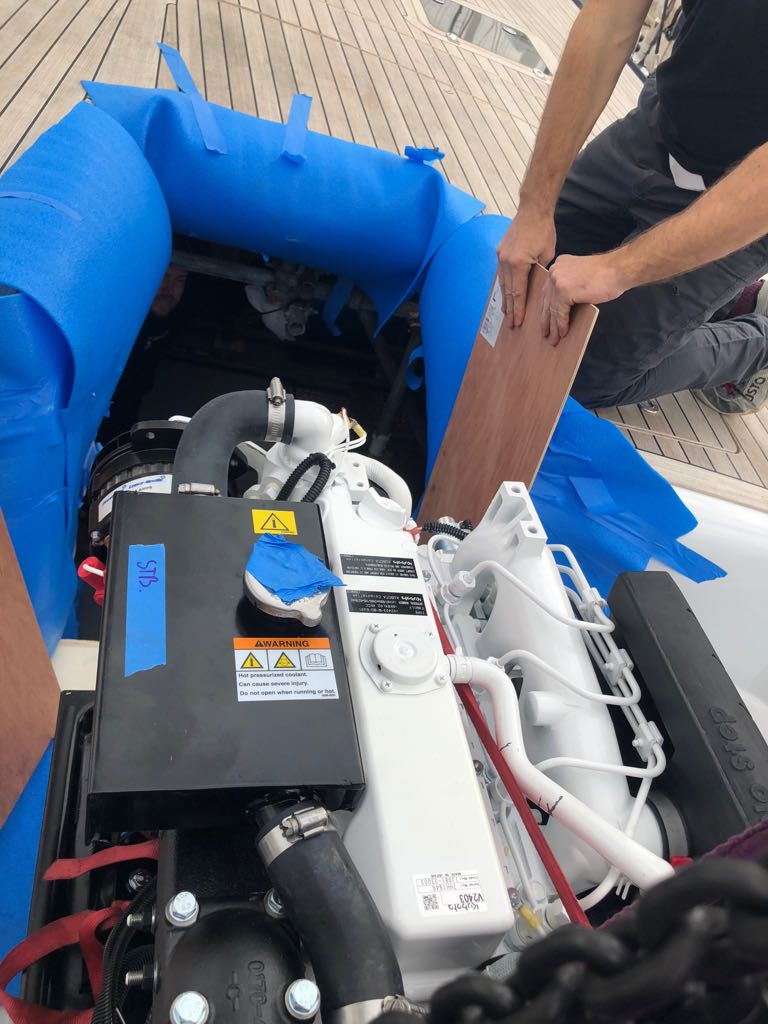Double generator replacement on SY Blues