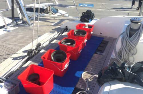 Dixon 73 LA LUNA complete winch service.