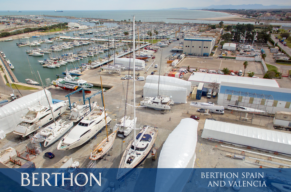 Berthon Spain and Valencia. By Berthon Spain MD Andrew Fairbrass