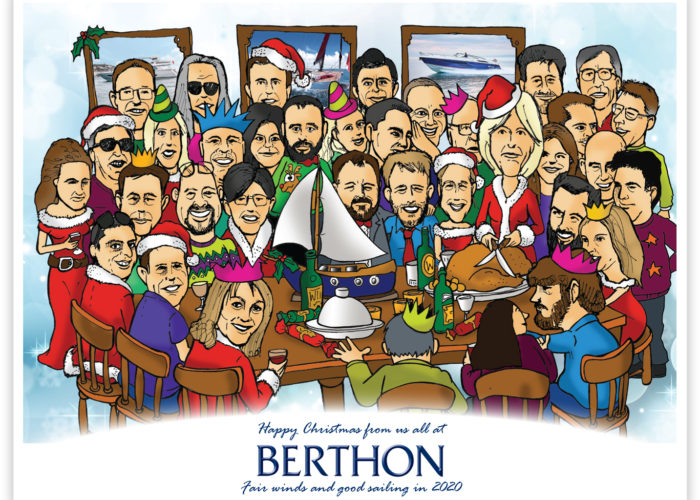 Season's Greetings From All of Us at Berthon