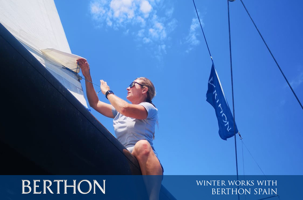 WINTER WORKS WITH BERTHON SPAIN