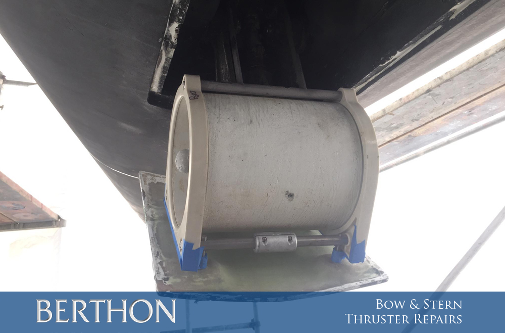 Berthon Spain Maintenance Logs – Bow & Stern Thruster Repairs