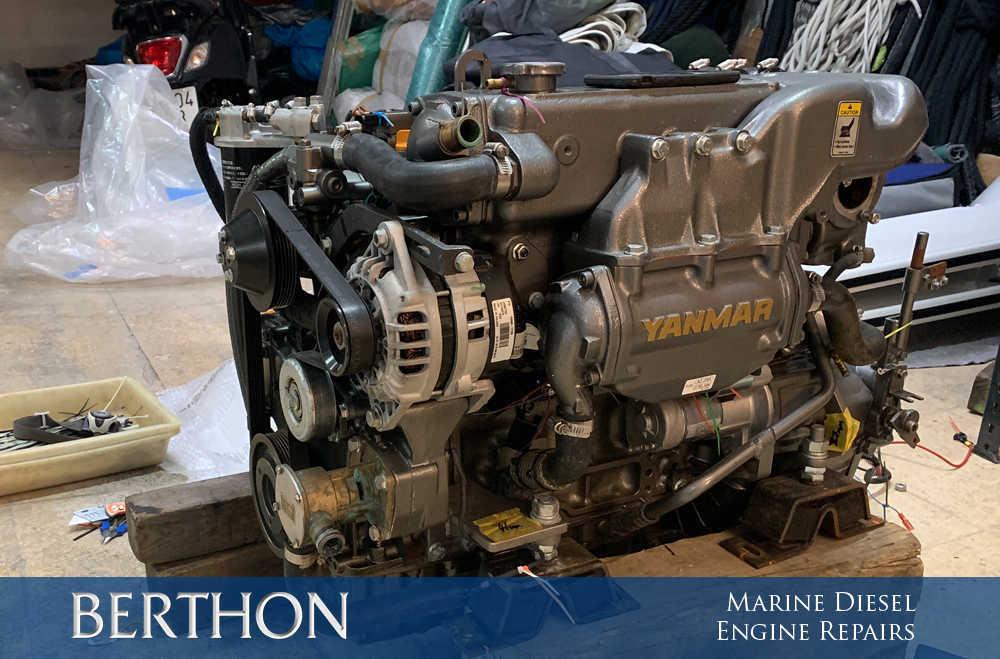 yanmar marine diesel engine repair