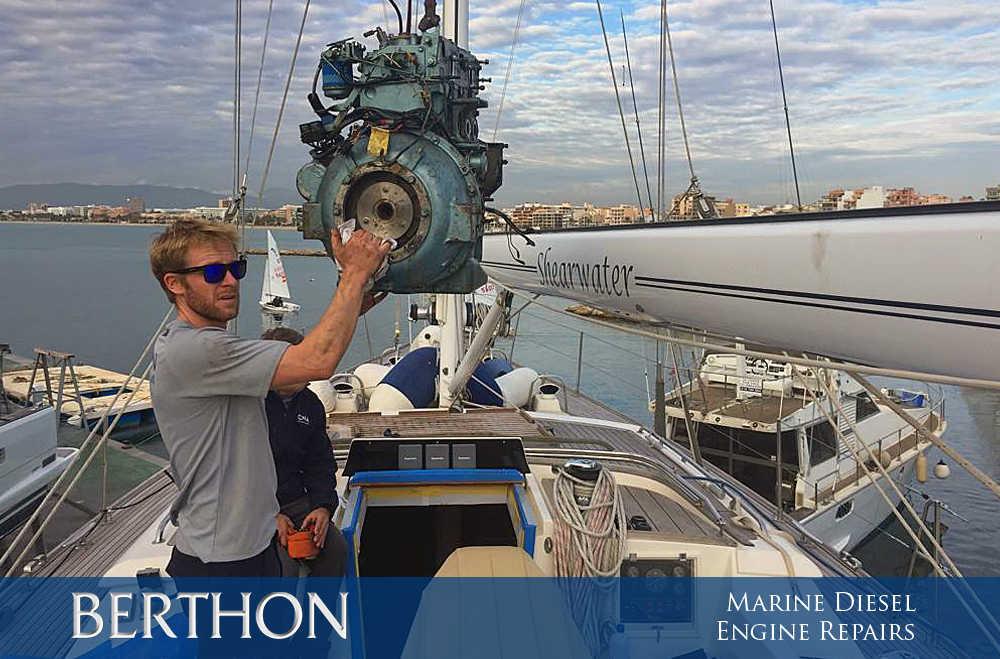 marine diesel engine extraction