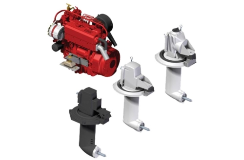 Beta Marine: Replacement Engine with Adaptor for Existing Saildrive Leg