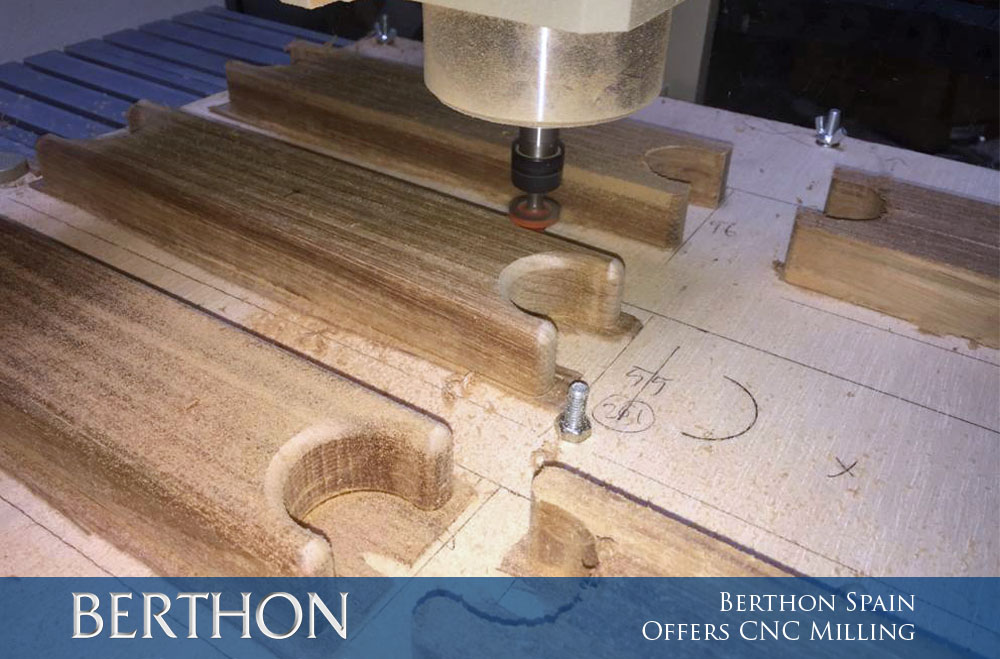 Berthon Spain offers CNC Milling 1 - Main