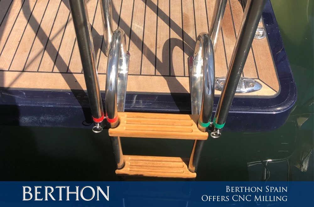 Berthon Spain offers CNC Milling 2