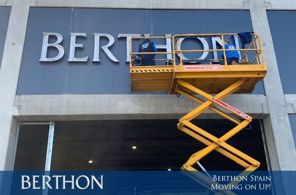 Berthon Spain - Moving on Up!