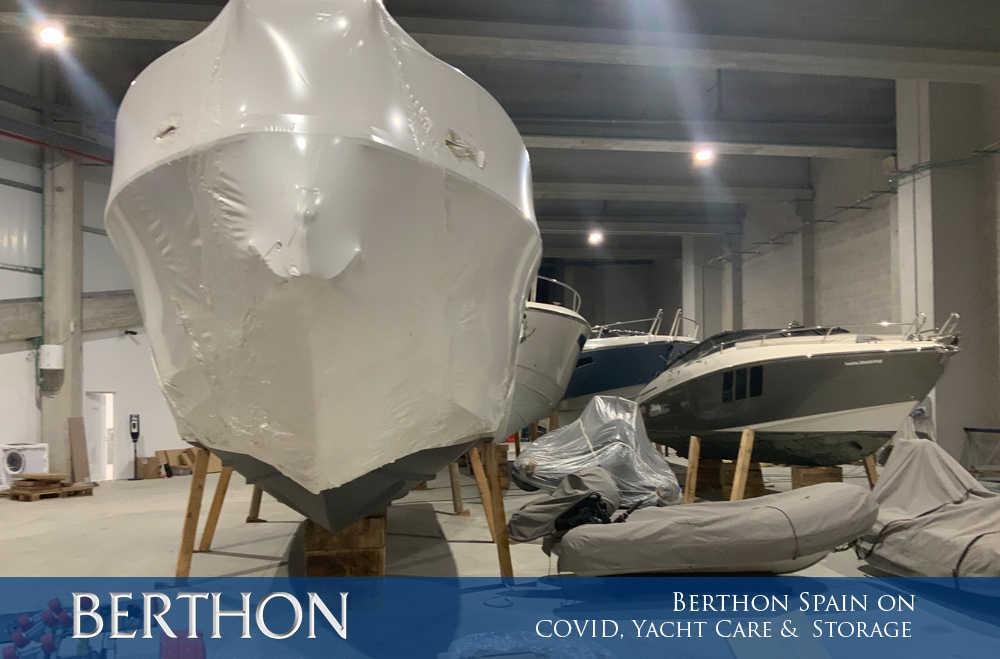 Yacht Storage Facilities at Berthon Spain