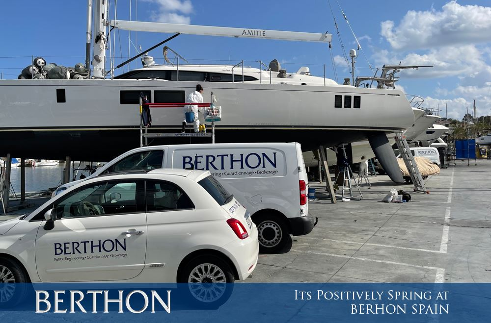 Its Positively Spring at Berthon Spain