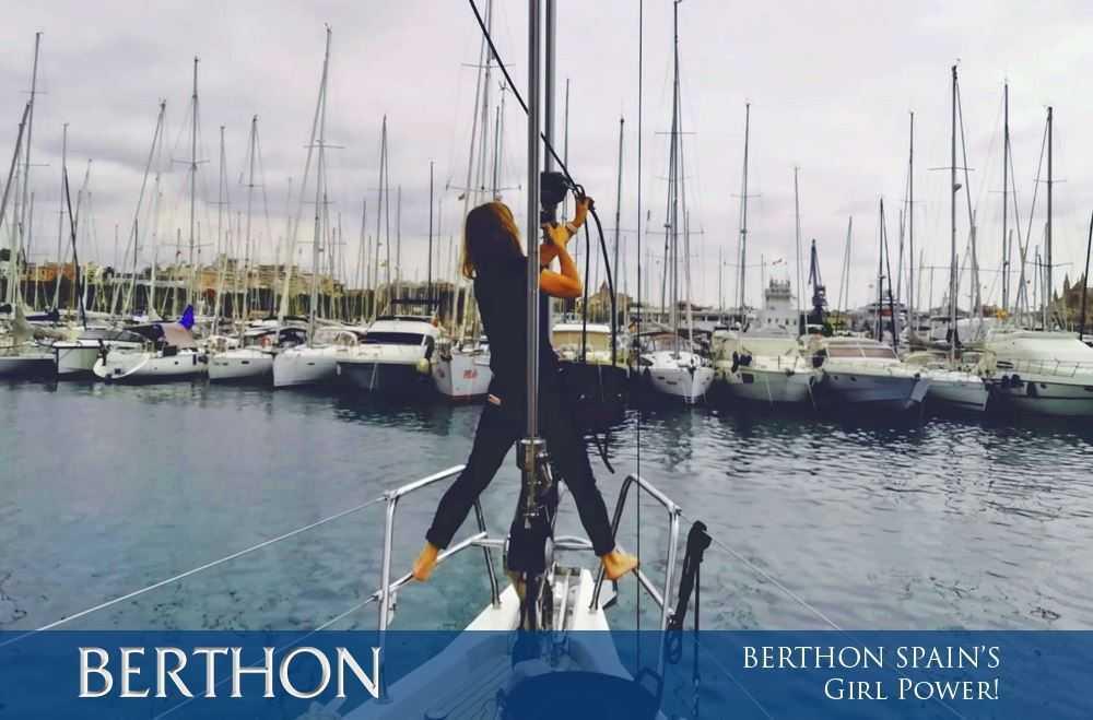 Berthon Spain…Girl Power!