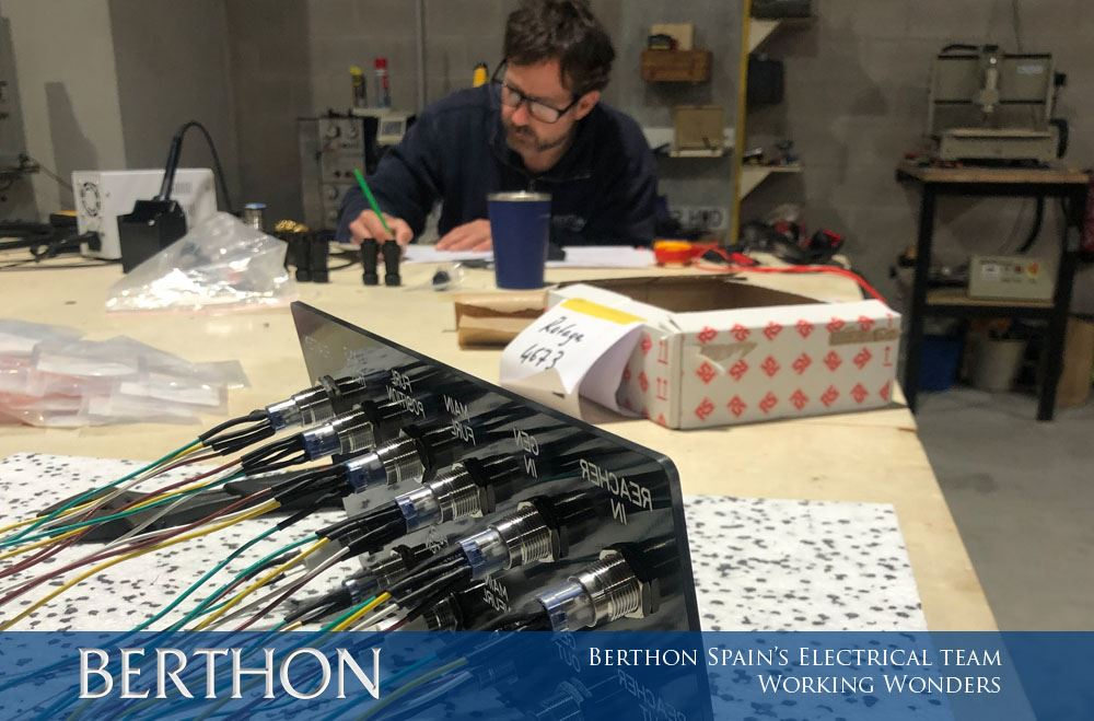 Berthon Spain's Electrical Team – Working Wonders