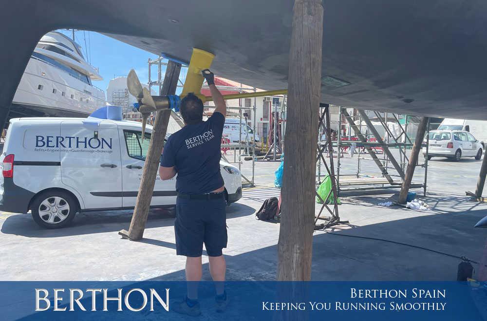 Berthon Spain, Keeping You Running Smoothly
